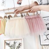 女寶寶半身裙蓬蓬裙網紗裙1-3歲2款洋氣小童嬰兒裙 洛小仙女鞋