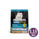 [寵樂子]《紐頓NUTRAM》無穀全能系列 - 無穀貓T24 鮭魚 1.13kg / 貓飼料