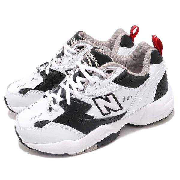 New Balance 慢跑鞋 608 NB IU 李知恩 白 黑 韓系 運動鞋 老爹鞋 男鞋 女鞋【ACS】 WX608RB1D