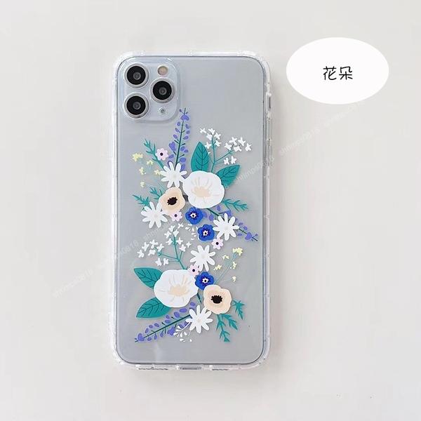 美感藝術家|OPPO A54 A5 A9 2020 花朵軟殼 透明殼系列 薰衣草 花朵 防摔 防刮 手機殼