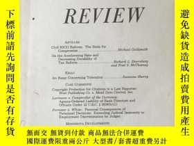 二手書博民逛書店Minnesota罕見LAW REVIEW Vol.71 No.4Y4615 University of Mi