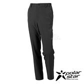PolarStar 男 四向彈性抗UV長褲『黑』P21359 戶外 休閒 登山 露營 運動褲 釣魚褲