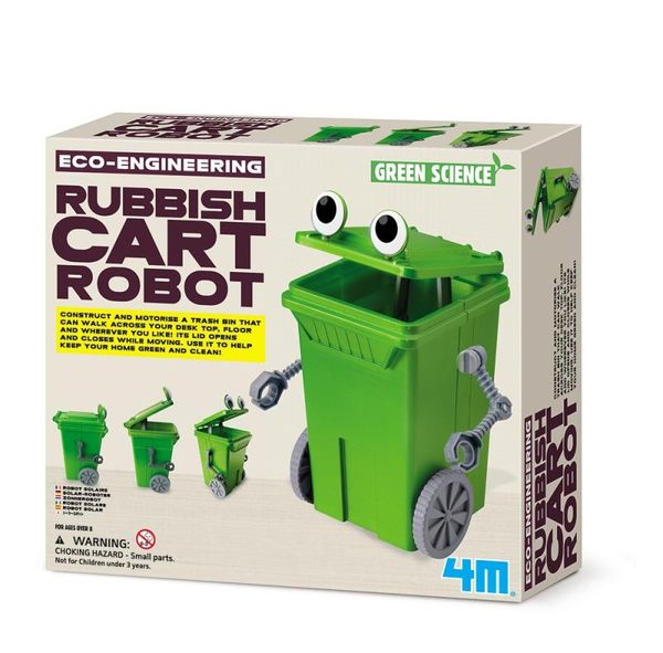 回收小尖兵 Rubbish Cart Robot