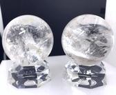 『晶鑽水晶』巴西純天然白水晶球61mm 白亮度高~都有超明顯彩虹結晶*免運費