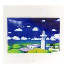 【收藏天地】台灣紀念品*創意特色磁鐵 - 墾丁燈塔 /  旅遊 紀念品 手信 景點