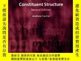 二手書博民逛書店Constituent罕見Structure (oxford S