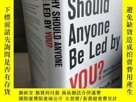 二手書博民逛書店Why罕見should anyone be led by you