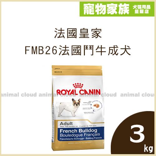 寵物家族-法國皇家FMB26法國鬥牛成犬3kg
