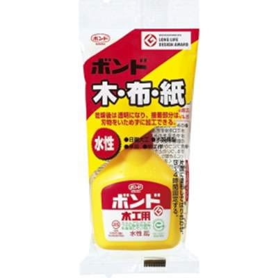 KONISHI日本小西 木工用白膠(黃瓶)環保無毒(日本學校指定國民用膠)50g