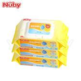 Nuby溫和低敏EDI超純水柔濕巾 /濕紙巾88抽3包