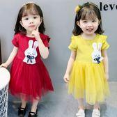 0-1-2-3-4歲女童夏裝女寶寶洋?嬰兒童裝紗裙子小童洋氣公主裙   八折免運 最後一天