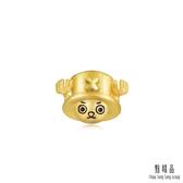 點睛品 航海王One-Piece 喬巴單邊黃金耳環(單只)