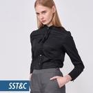 SST&C 女裝 黑色立領襯衫 | 75...