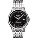 TISSOT 天梭 Carson Powermatic 80 經典機械手錶-黑/銀 T0854071105100
