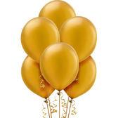 12吋珠光乳膠氣球15入-璀璨金