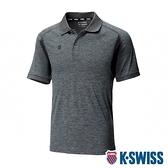 K-SWISS Performance Polo排汗POLO衫-男-灰
