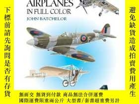 二手書博民逛書店100罕見Historic Airplanes in Full
