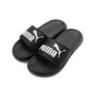 PUMA POPCAT 一片套式拖鞋 黑白 360265-10 女鞋