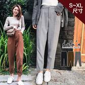 特價品-Q前打摺斜紋西裝褲S-XL-3色  【04190232】