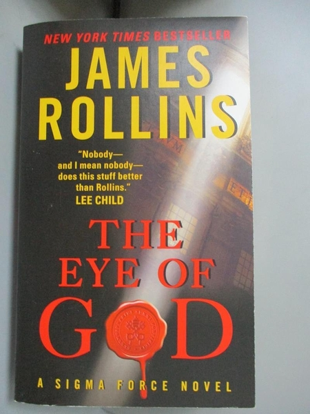 【書寶二手書T1/原文小說_JIY】The Eye of God: A Sigma Force Novel (Sigma Force Novels)_James Rollins