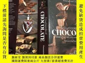二手書博民逛書店Encyclopedia罕見of Chocolate 巧克力全書 英文原版餐飲食譜 精裝Y23200 Send