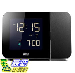 [8美國直購] Braun BNC015BK 時鐘 / 鬧鐘 Projection Quartz Clock