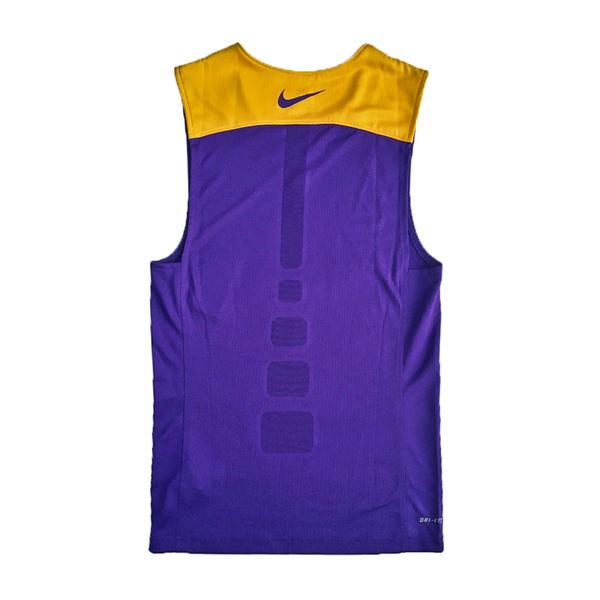 Nike AS M League REV Tank [614447-547] 男 籃球 訓練 背心 透氣 單面 紫黃