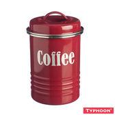 【TYPHOON】復古儲存咖啡罐1-25L(紅)