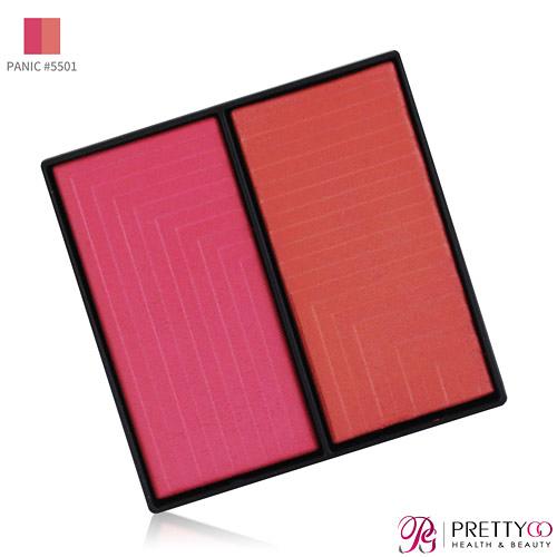 [即期良品]NARS 星燦奢華雙色腮紅(6g)PANIC #5501-無盒-期效202110【美麗購】
