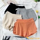 孕婦短褲夏季時尚款外穿薄款低腰寬松運動安全打底褲子夏裝睡褲女【小橘子】