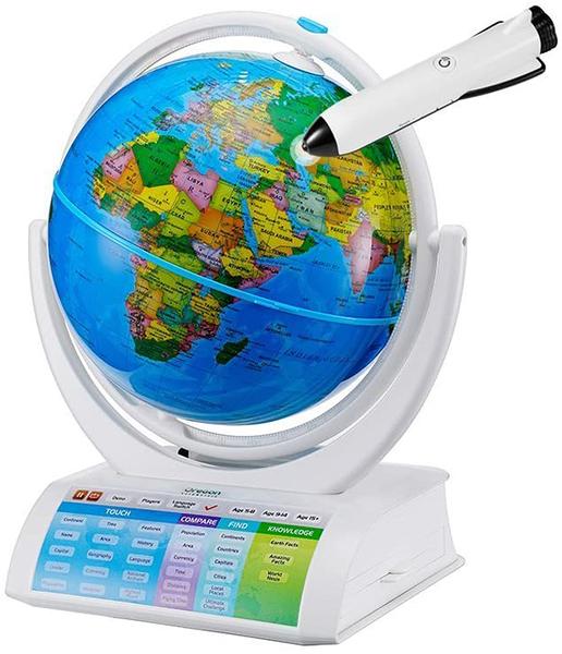 [2美國直購] 學習玩具 Oregon Scientific SG338R Smart Globe Explorer AR Educational World