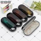 眼鏡盒ins復古烤漆鏡面近視眼盒簡約便攜抗壓眼睛盒金屬墨鏡盒