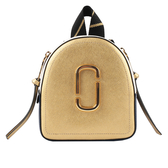 【MARC  JACOBS】防刮牛皮撞色Pack Shot Backpack小型後背包(金色) M0014533 765