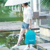 ◄ 生活家精品 ►【P453】後背包款保護防水套 戶外 背包 防雨罩 騎行 登山 雙肩書包 防水罩