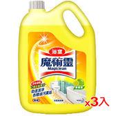 魔術靈浴室清潔量販瓶裝-檸檬香3800ml*3入(箱)【愛買】