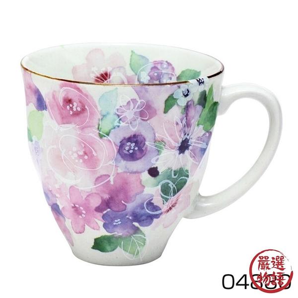 【日本製】 花工房系列 美濃燒馬克杯 粉色(一組:3個) SD-6581 - 日本製 美濃燒