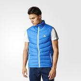 Adidas Winter Jacket 男 白 藍 運動羽絨背心 夾克 愛迪達外套  AY4120