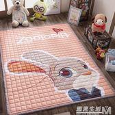 純棉爬行墊防滑加厚嬰兒童客廳臥室游戲毯地墊家用爬爬墊機洗地毯  igo 遇見生活