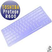 EZstick矽膠鍵盤保護膜-TOSHIBA Portege R600 12吋 系列專用鍵盤膜