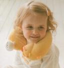 全新台灣製黃色小鴨造型護頸枕/旅行枕/造型保暖圍巾/長途旅行必備/嬰幼兒/成人皆適用81585