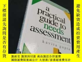 二手書博民逛書店a罕見practical guide to needs assessment 【附磁盤】Y186899 Kav