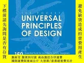 二手書博民逛書店袖珍版通用設計原理罕見英文原版 原版設計原理 Principles of DesignY335736 Lidw