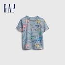 Gap男幼童 布萊納系列 童趣印花圓領T恤 681411-恐龍印花