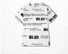 FINDSENSE H1夏季 新款 韓國 嘻哈 街頭   時尚  寬鬆 潮牌短袖