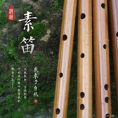潮韻素笛一節笛入門橫笛子初學成人學生零基礎原生態玉屏竹笛YJT 扣子小鋪