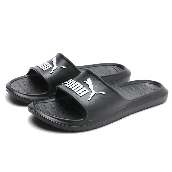 PUMA 涼拖鞋 DIVECAT V2 黑白 防水 輕量 運動 休閒 膠拖 男女(布魯克林) 36940001