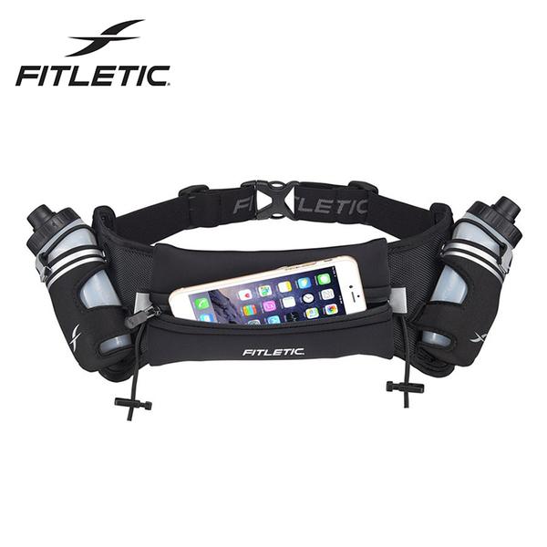 Fitletic Hydra 16oz Neoprene雙水壺腰包HD08 / 城市綠洲 (腰包、路跑、休閒、輕量、夜光、運動)
