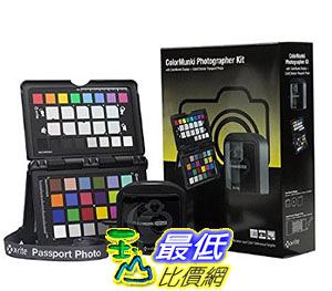 [106美國直購] X-Rite ColorMunki Photographer Kit, B01M8FEELV Black (CMUNDISMSCCPP)