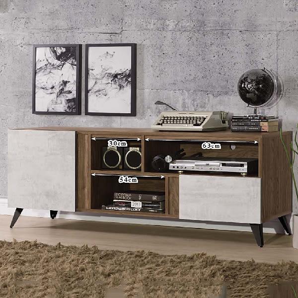 【水晶晶家具/傢俱首選】緹諾5 尺耐磨木芯板電視櫃 ZX8362-3