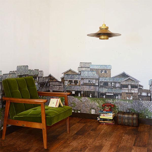 【日本製】[WALLTZ] KAZUMA ARAKI 【訂貨單位424cm×259.9cm/套(一套九張壁板)】家 房屋日式 Quality Time A